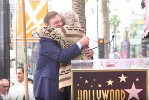 John Goodman Jeff Bridges Paseo de la Fama Hollywood