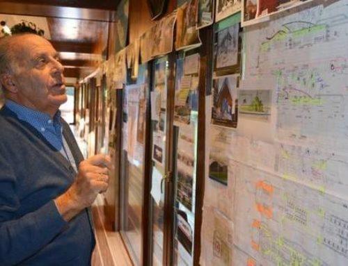 Jaime Oliver, una vida repleta de trazos marítimos (entrevista en DEIA)