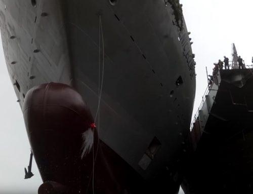 La botadura del que será sin  duda uno de los barcos del añon 2018, un proyecto de Oliver Design