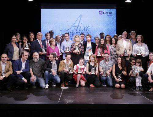 Video-resumen: ceremonia de entrega de los Premios Aixe Getxo 2018