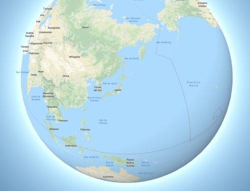 La tierra deja de ser plana en Google Maps