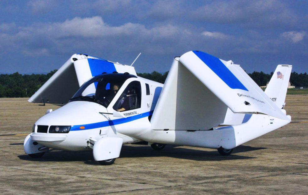 Insólita comunicación sobre el primer coche volador