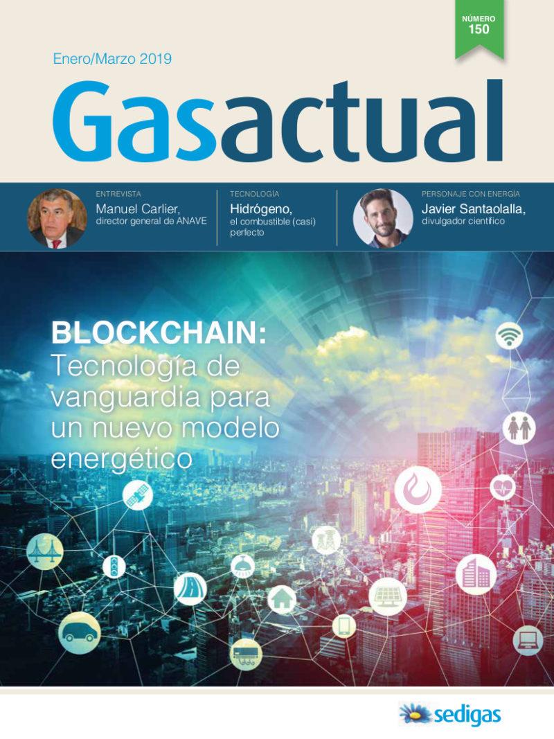 """Reportaje en la revista """"Gas Actual"""""""