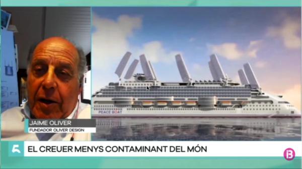 """Entrevista sobre el crucero """"Ecoship"""""""