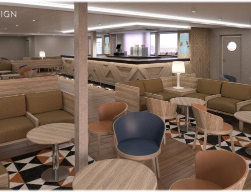 Oliver Design firma el proyecto de interiorismo del nuevo ferry de Trasmediterránea