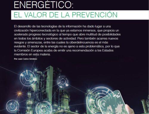 Artículo sobre ciberseguridad en el sector del gas
