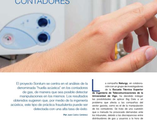 Artículo sobre la aplicación de Big Data e ingeniería acústica en el sector del gas