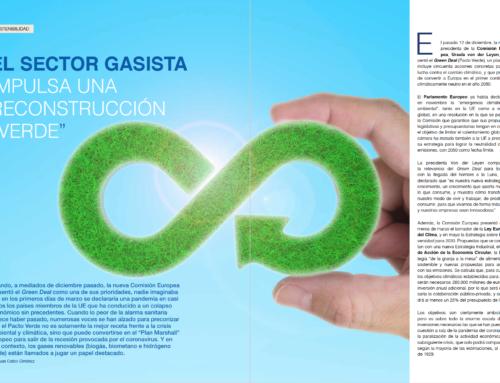 Reportaje: El sector gasista impulsa una reconstrucción «verde»