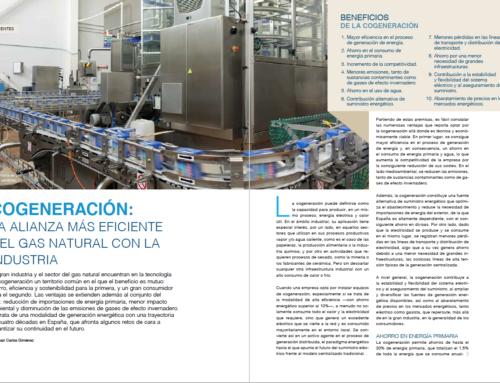 Reportaje: Cogeneración, la alianza más eficiente del gas natural con la industria
