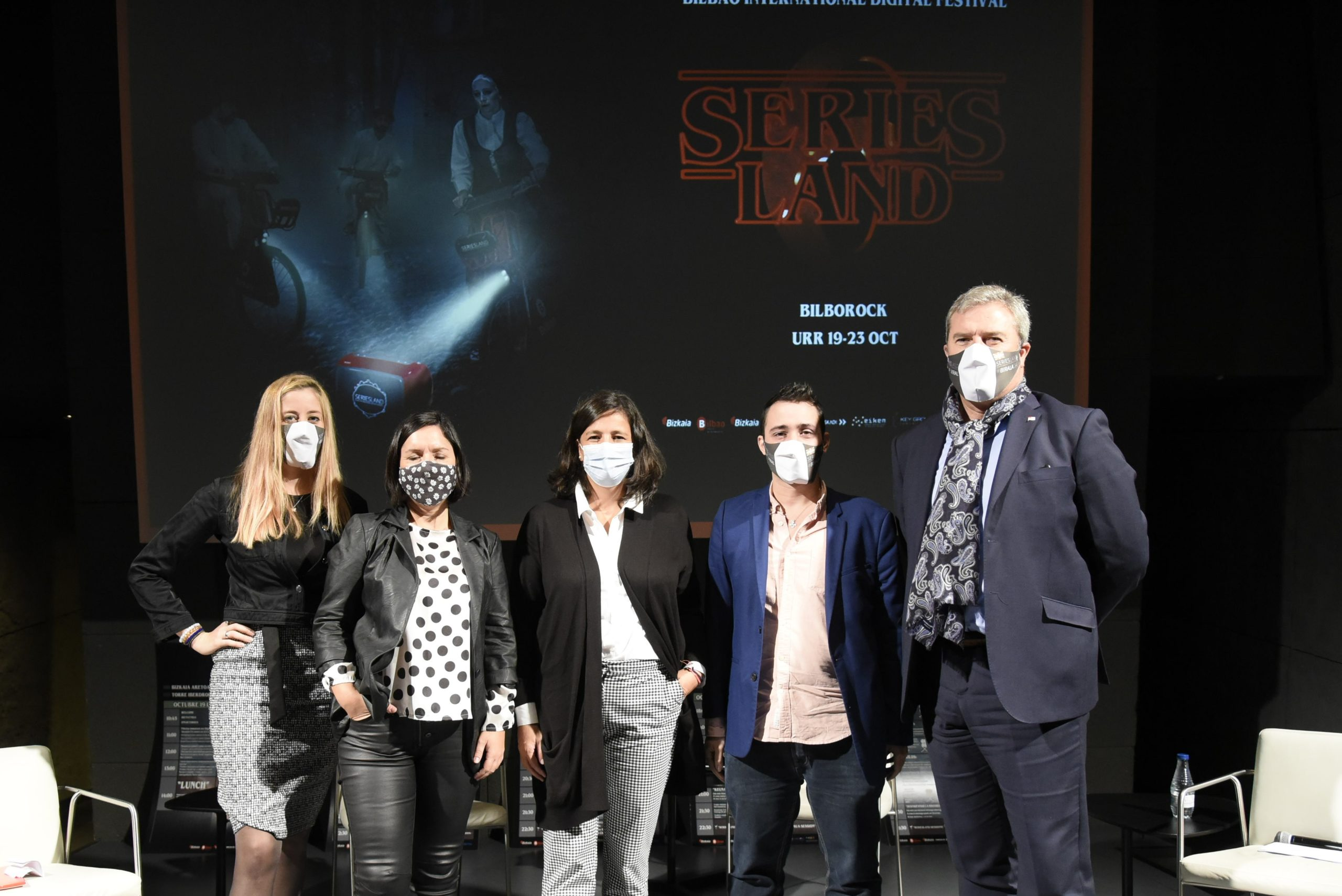 Rueda de prensa de presentación de la VI Edición del Festival Internacional de Webseries de Bilbao-SERIESLAND