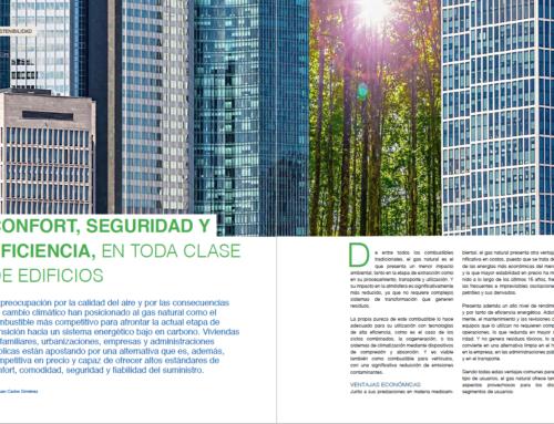 Reportaje: Gas natural, confort, seguridad y eficiencia en toda clase de edificios