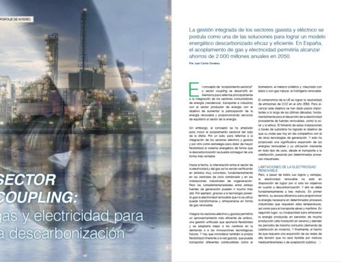 Reportaje: Sector Coupling, gas y electricidad para la descarbonización