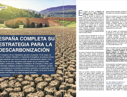 España completa su estrategia para la descarbonización