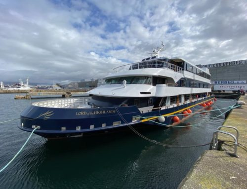 """""""LORD OF THE HIGHLANDS"""": PASSENGER FERRY CONVERTED INTO LUXURY CRUISE SHIP BY OLIVER DESIGN SETS SAIL FOR FINAL DESTINATION IN SCOTLAND"""